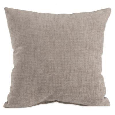 Glenna Jean Jetson Velvet Throw Pillow in Grey