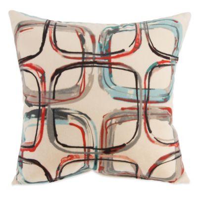 Glenna Jean Jetson Mod Print Throw Pillow