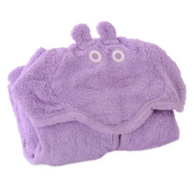 Minene Toddler Nation Small Cat Bath Robe in Purple