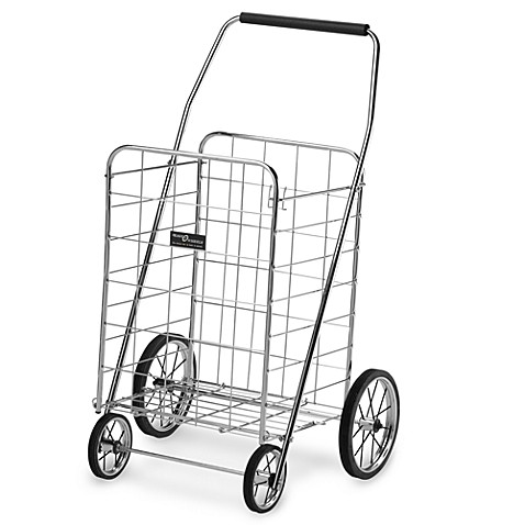 4-Wheel Deluxe Chrome Folding Cart