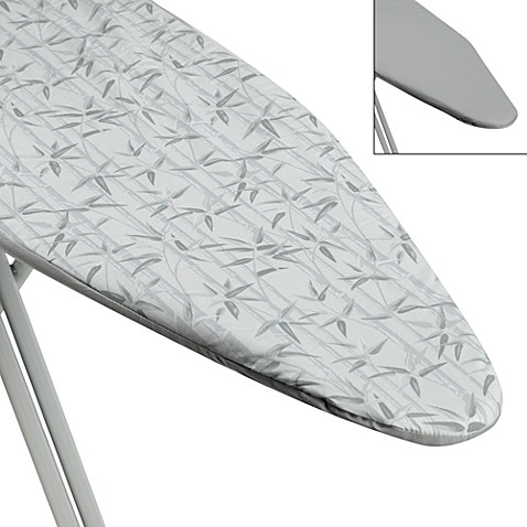Ultimate Quality Ironing Board Cover and Reversible Pad in Bamboo/Sage