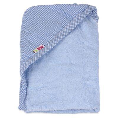Minene Toddler Nation Newborn Hooded Towel in Blue