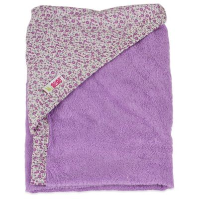Minene Toddler Nation Newborn Hooded Towel in Lilac