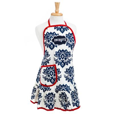 NFL New England Patriots Damask Women's Apron