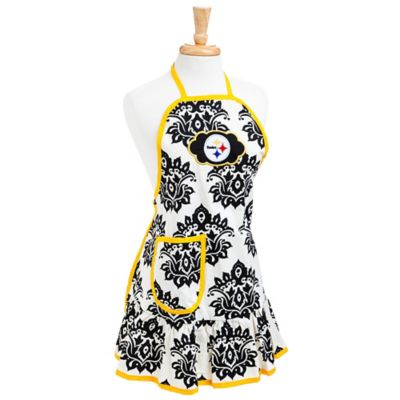 NFL Pittsburgh Steelers Damask Women's Apron