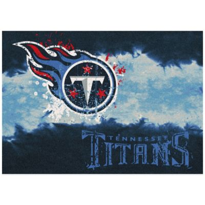 NFL Tennessee Titans Fade Area Rug