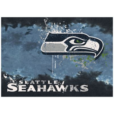 NFL Seattle Seahawks Fade Area Rug