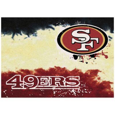 NFL San Francisco 49ers Fade Area Rug