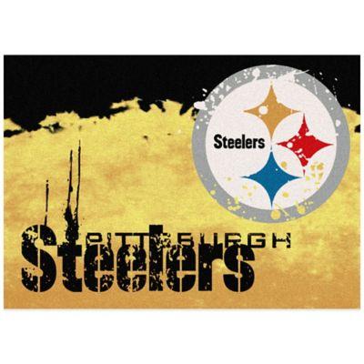 NFL Pittsburgh Steelers Fade Area Rug