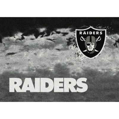 NFL Oakland Raiders Fade Area Rug