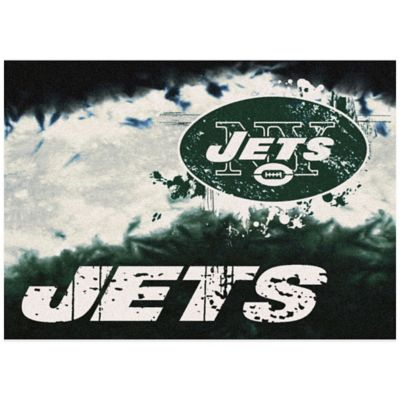 NFL New York Jets Fade Area Rug