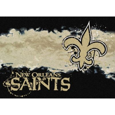 NFL New Orleans Saints Fade Area Rug