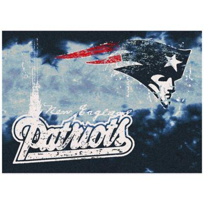 NFL New England Patriots Fade Area Rug