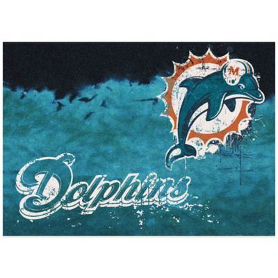 NFL Miami Dolphins Fade Area Rug