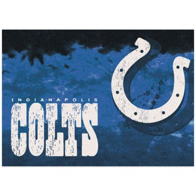 NFL Indianapolis Colts Fade Area Rug