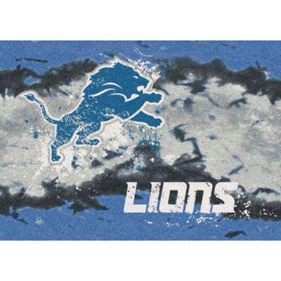 NFL Detroit Lions Fade Area Rug
