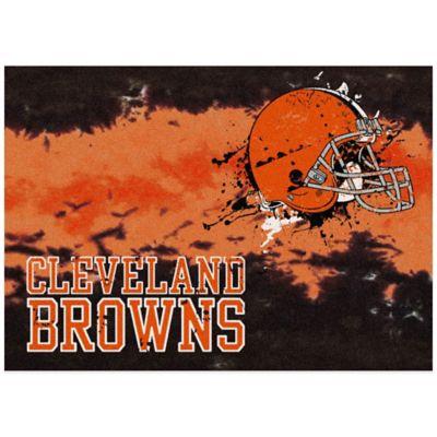 NFL Cleveland Browns Fade Area Rug