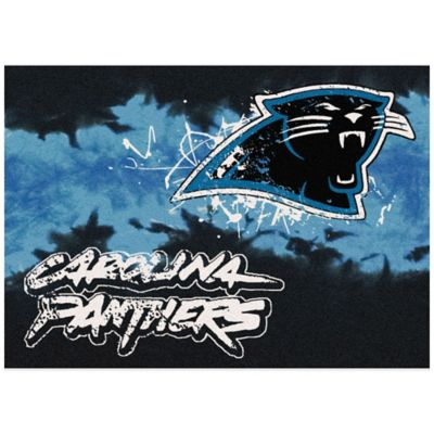 NFL Carolina Panthers Fade Area Rug