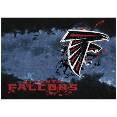 NFL Atlanta Falcons Fade Area Rug