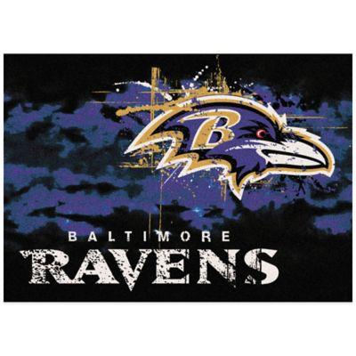 NFL Baltimore Ravens Fade Area Rug