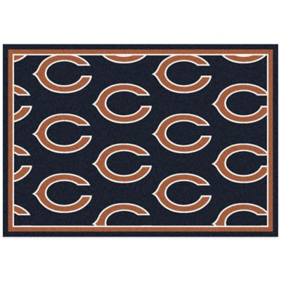 NFL Chicago Bears Repeating Large Area Rug