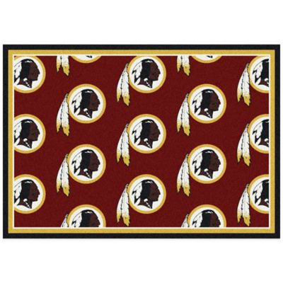 NFL Washington Redskins Repeating Large Area Rug