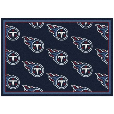 NFL Tennessee Titans Repeating Large Area Rug