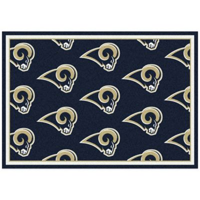 NFL St. Louis Rams Repeating Small Area Rug