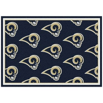 NFL St. Louis Rams Repeating Large Area Rug