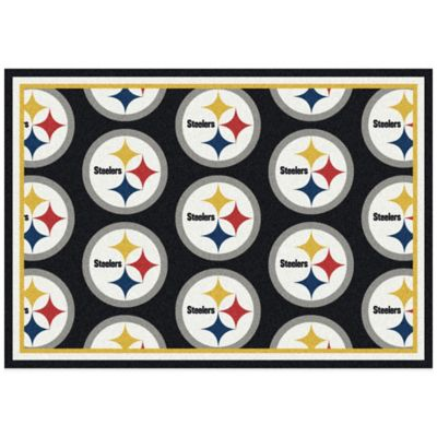 NFL Pittsburgh Steelers Repeating Small Area Rug