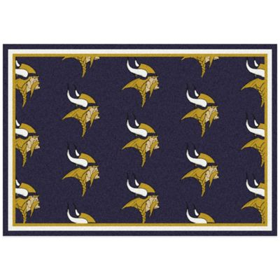 NFL Minnesota Vikings Repeating Small Area Rug