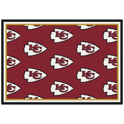 NFL Kansas City Chiefs Repeating Small Area Rug