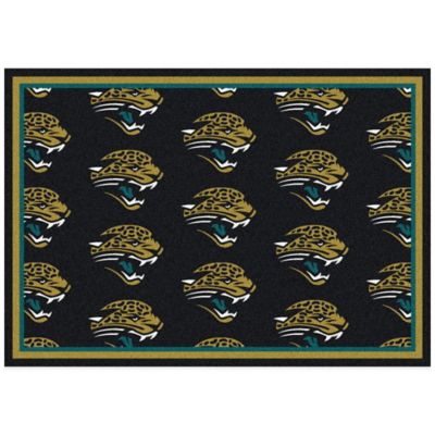 NFL Jacksonville Jaguars Repeating Large Area Rug