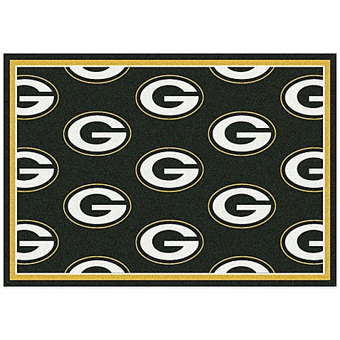 NFL Green Bay Packers Repeating Area Rug