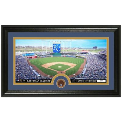 MLB Kansas City Royals Dirt Coin Panoramic Photo Mint