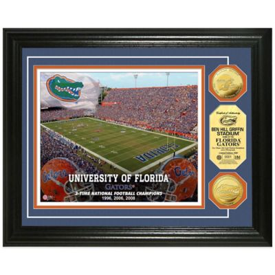 University of Florida Collegiate Home Field Gold Coin Photo Mint