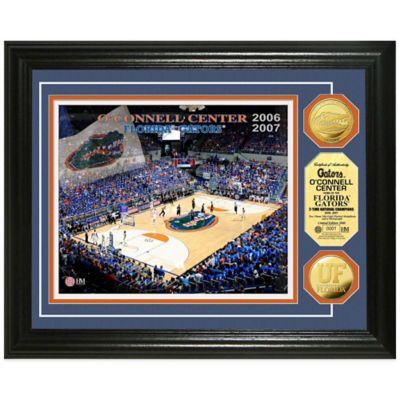 University of Florida Collegiate Basketball Court Gold Coin Photo Mint