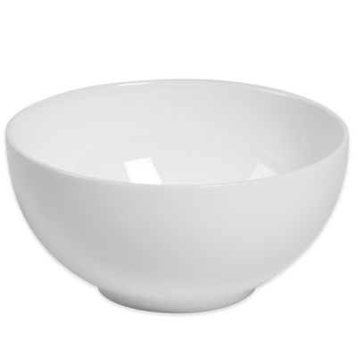 Tabletops Unlimited® Bone China Round Fruit Bowl in White