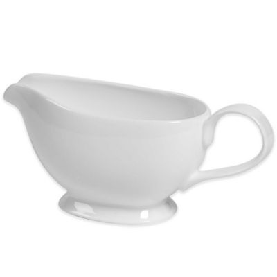 Tabletops Unlimited® Bone China Gravy Boat in White