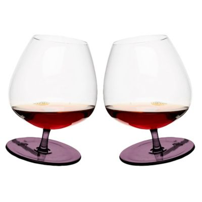 Purple Cocktail Glasses