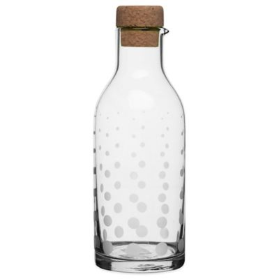 Sagaform® SEA Aqua Droplets Glass Carafe in Clear