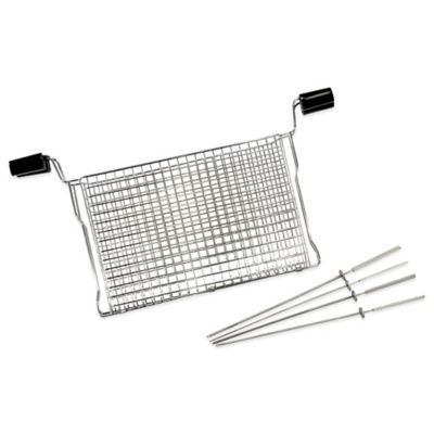 Ronco® Ready Grill Mesh Basket and Kabob Rods Set