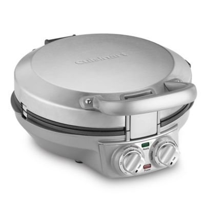 Cuisinart® International Chef™ Crepe/Pizzelle/Pancake Plus Maker