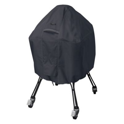 Classic Accessories® Large Polyester Ravenna BBQ Grill Cover in Black