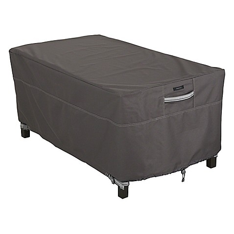 Classic Accessories Ravenna Rectangular Coffee Table Cover Bed Bath Beyond