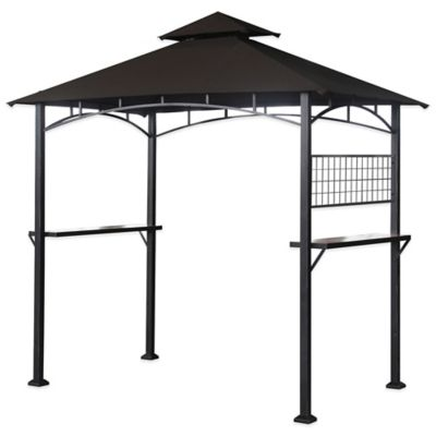 Sunjoy Hard Top Chalet Grill Gazebo