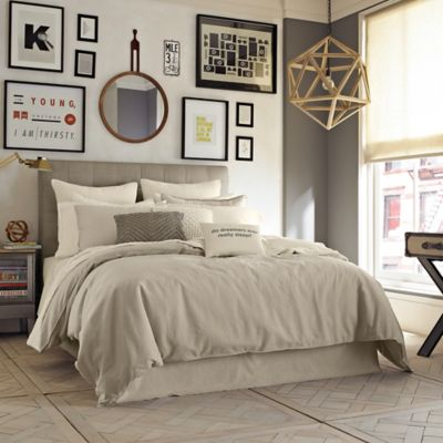 Kenneth Cole Reaction Home Mineral Full/Queen Comforter in Oatmeal