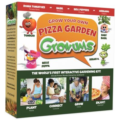 Growums Grow Your Own Pizza Garden Kit