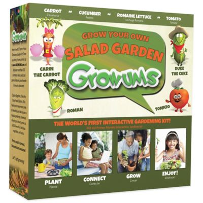 Growums Grow Your Own Salad Garden Kit