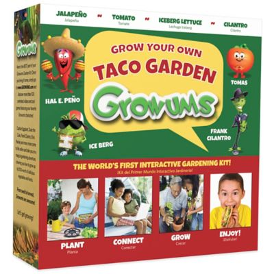 Growums Grow Your Own Taco Garden Kit